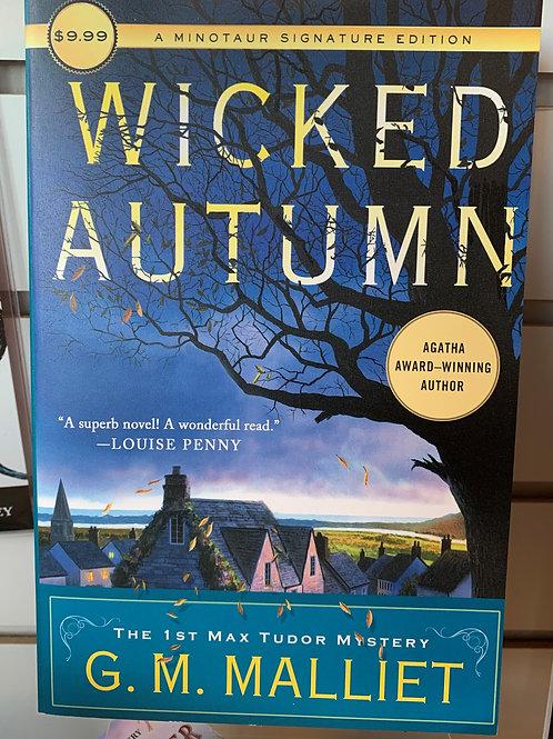 Wicked Autumn: A Max Tudor Novel #1