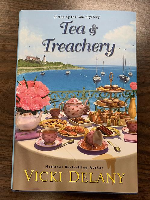 Tea and Treachery - A Tea by the Sea Mystery #1