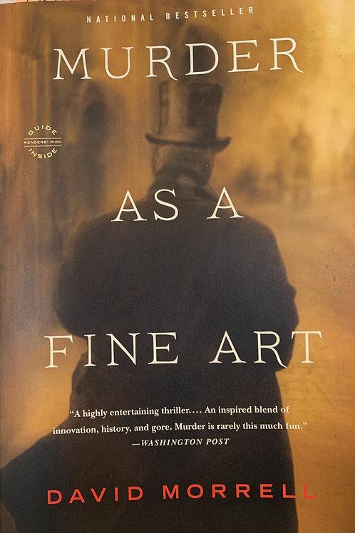 Murder As A Fine Art (Thomas and Emily De Quincey #1)