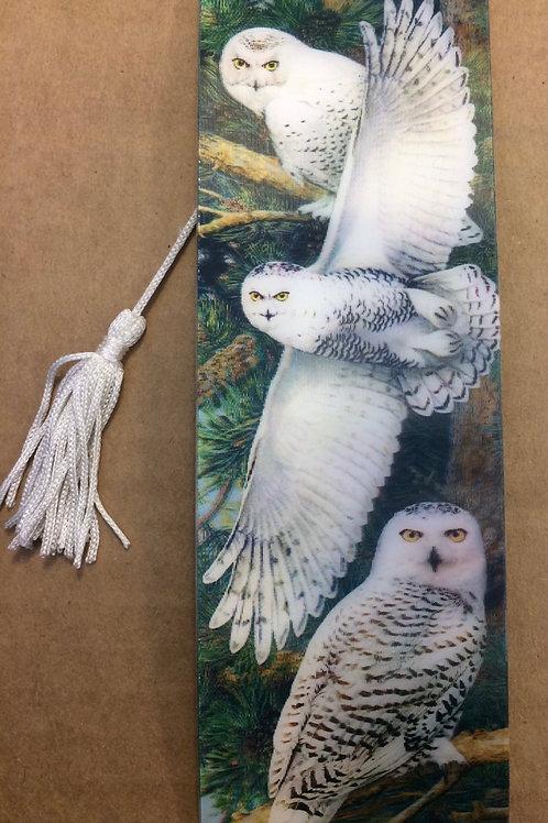 3D Owl Bookmark