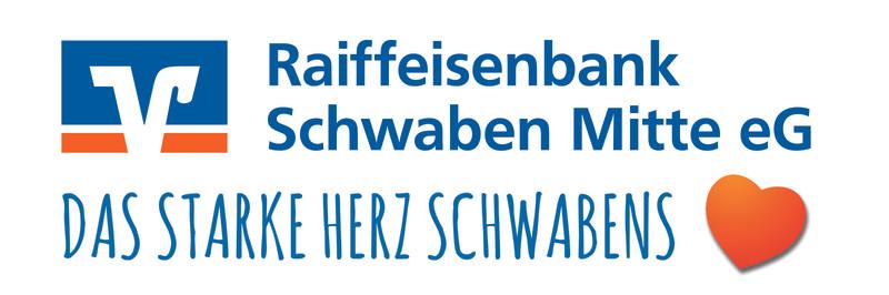 Raiba Schwaben Mitte eG Logo mit Claim j
