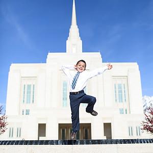 Landon Baptism Photos