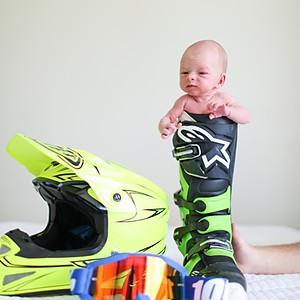 Miles Stephens Newborn Photos