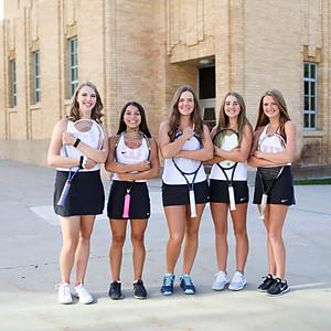 OHS Girls Tennis Team Photos