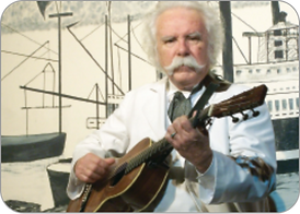 Jim Post as Mark Twain, ARTRA artist and performer