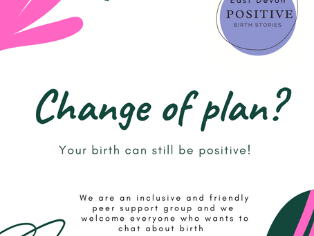 *** An unexpected birth story can still be a positive birth story ***