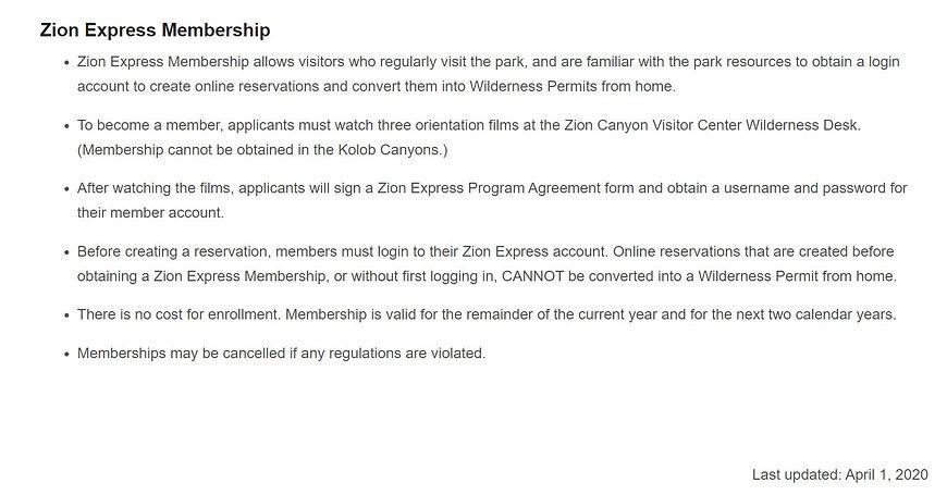 Zion Express Permit Info.JPG