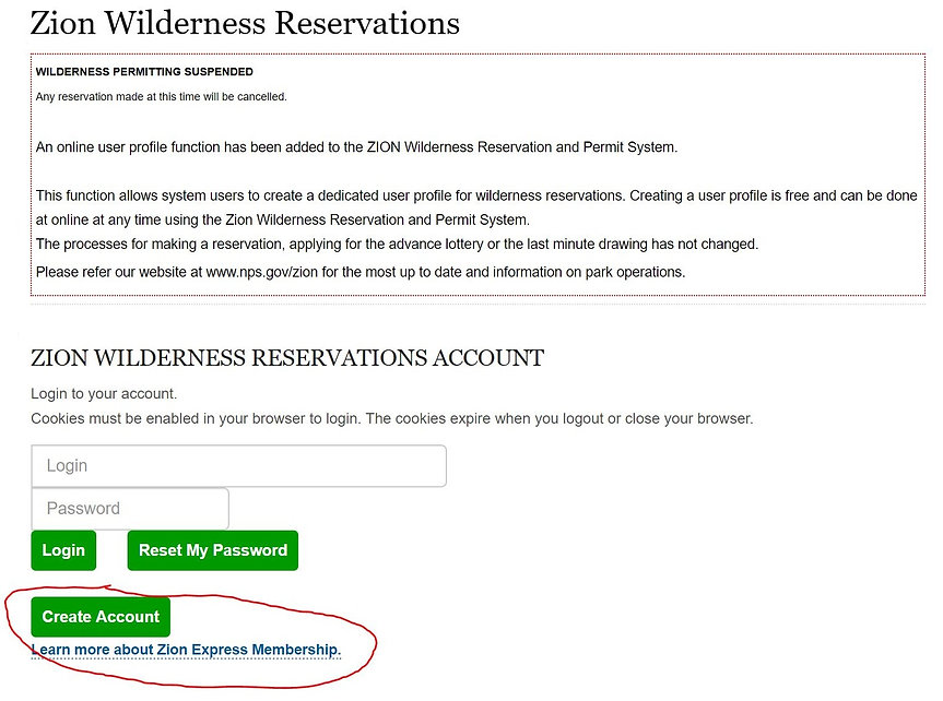 zion wilderness permit 2.JPG