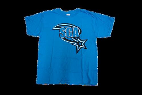 Blue Swoosh T-Shirt