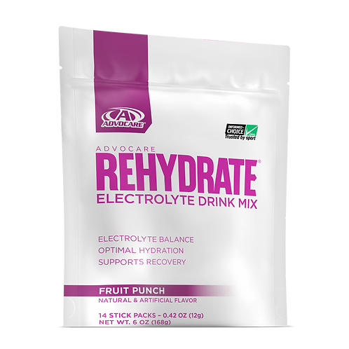 Fruit Punch Rehydrate Pouches