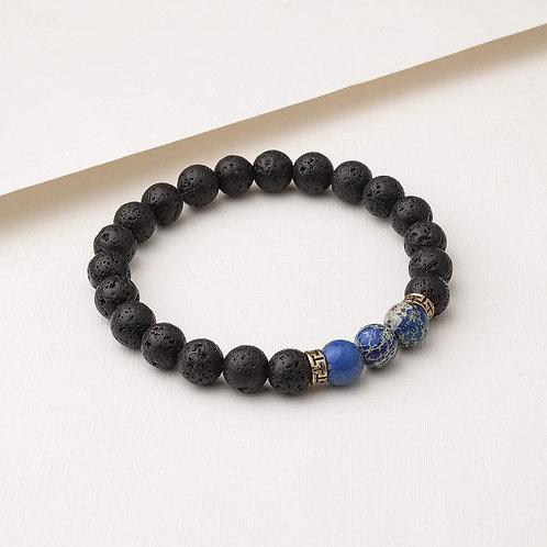 Blue Regalite Diffuser Bracelet