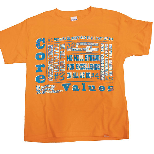 Youth Core Values T-Shirt