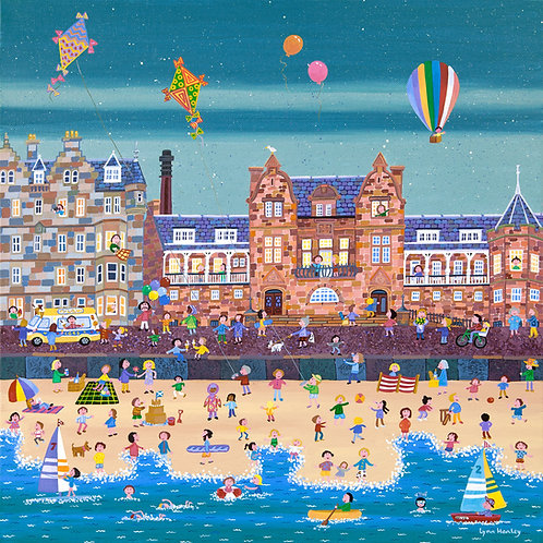 Balloons and Kites Portobello Print