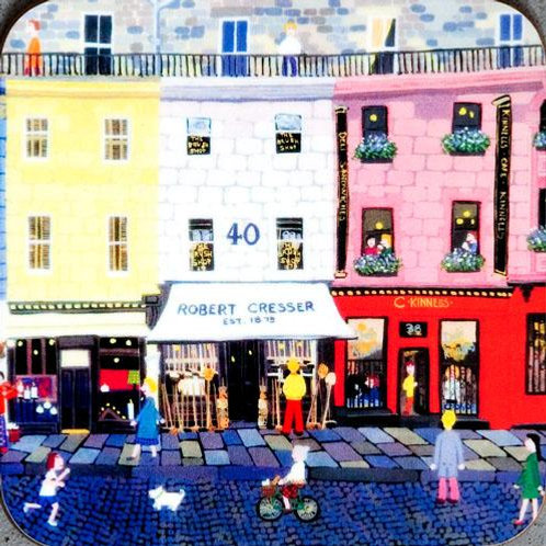Victoria Street coaster