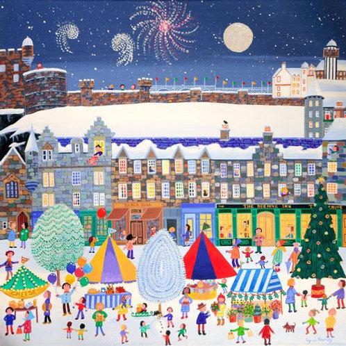 Christmas Market Print