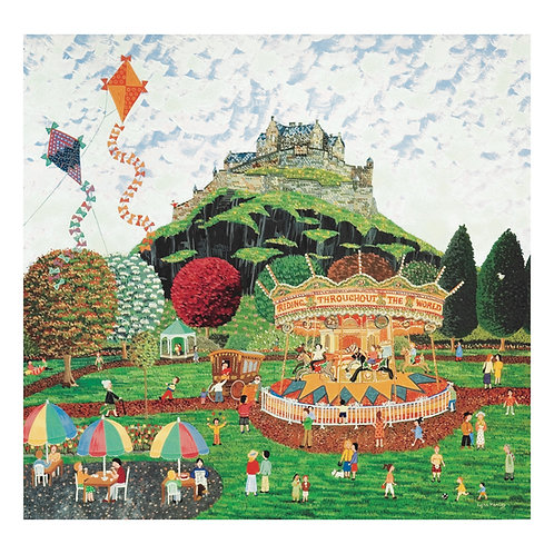 Castle and Carousel placemat