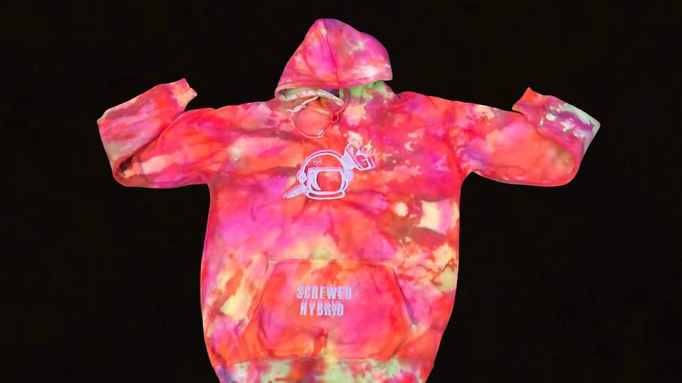 Large Hand Dyed Hoodie