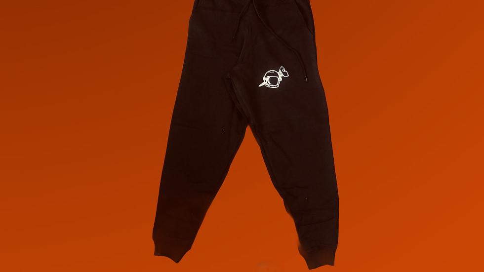 Black Reflective Sweatpants