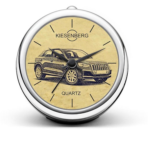 Für Audi SQ2 Fan Tischuhr T-5099