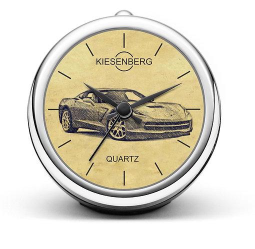 Für Corvette C7 Fan Tischuhr T-4702