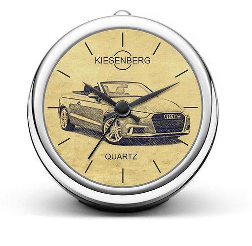 Für Audi A3 8V Cabrio Sport Fan Tischuhr T-5090