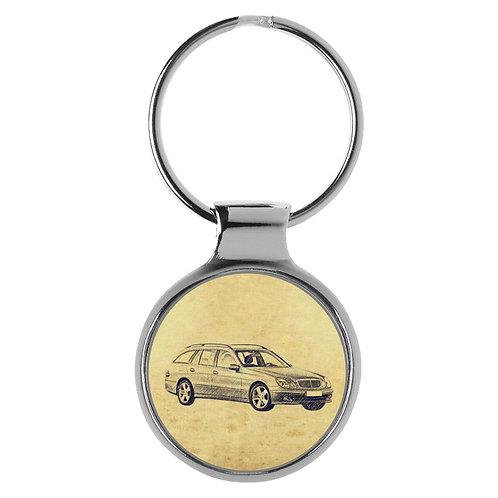 Für Mercedes W211 E Klasse Kombi Fan Schlüsselanhänger A-5477