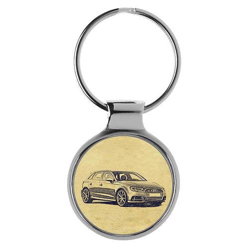 Für Audi S3 8V Sportback Fan Schlüsselanhänger A-5093