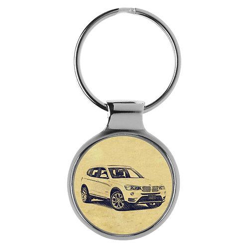 Für BMW X3 F25 Modellpflege Fan Schlüsselanhänger A-4627