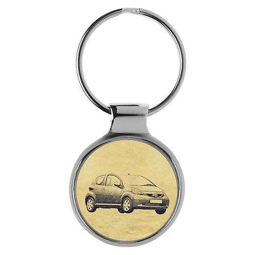 Für Toyota Aygo ab 2005 Fan Schlüsselanhänger A-5345