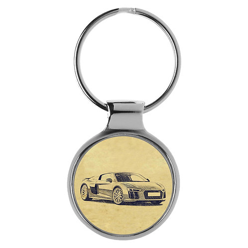 Für Audi R8 4S Coupe Fan Schlüsselanhänger A-5143