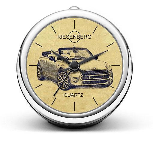 Für Mini III Cabrio Fan Tischuhr T-4734