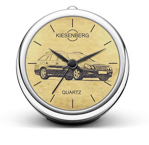 Für Mercedes W211 E Klasse Modellpflege Fan Tischuhr T-5473