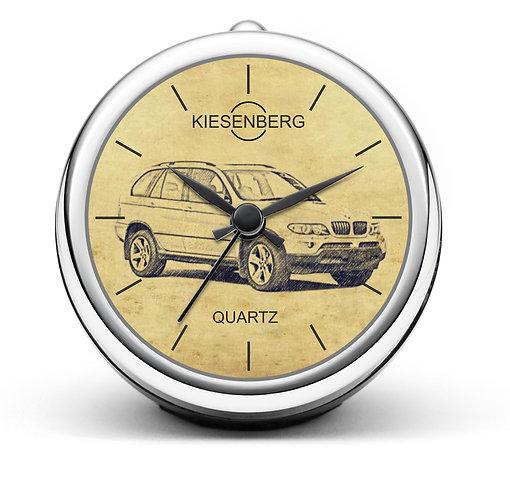 Für BMW X5 E53 Modellpflege Fan Tischuhr T-5436