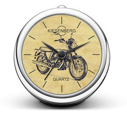 Für Moto Guzzi V7 Motorrad Fan Tischuhr T-20421