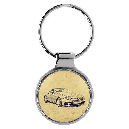 Für Mercedes SLK R172 Modellpflege Fan Schlüsselanhänger A-5467