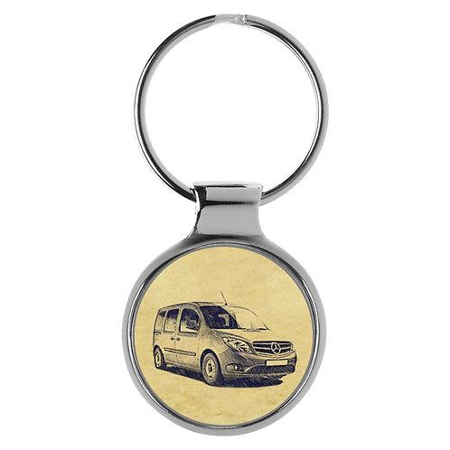 Für Mercedes Citan W415 Tourer Fan Schlüsselanhänger A-5247