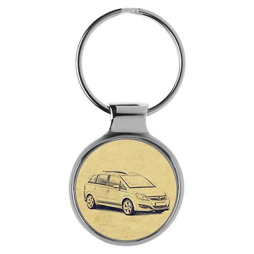 Für Opel Zafira B Modellpflege Fan Schlüsselanhänger A-4586