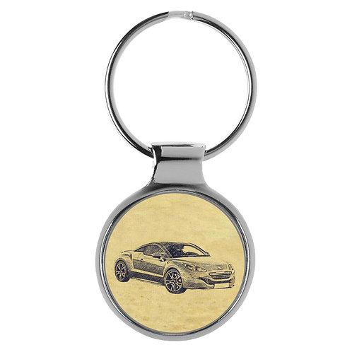 Für Peugeot RCZ Facelift Fan Schlüsselanhänger A-4341
