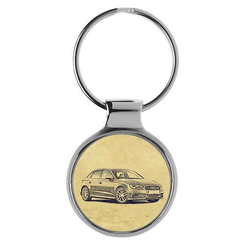 Für Audi S3 8V Sportback Fan Schlüsselanhänger A-5086