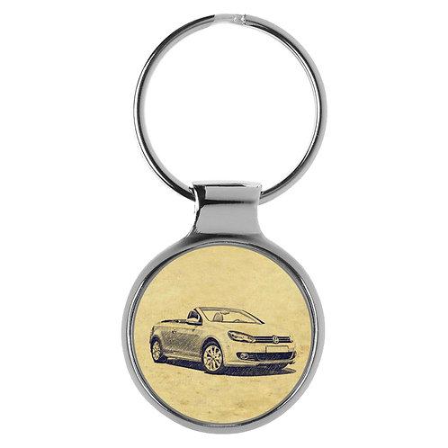 Für VW Golf VI Cabrio Fan Schlüsselanhänger A-5036