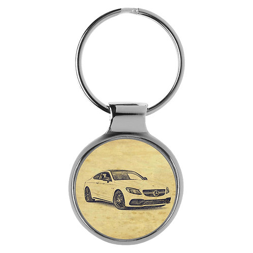 Für Mercedes C Klasse Coupe Fan Schlüsselanhänger A-6291