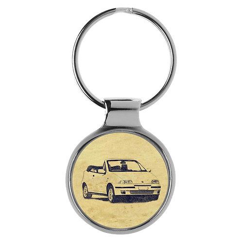 Für FIAT Punto Cabrio Fan Schlüsselanhänger A-6484