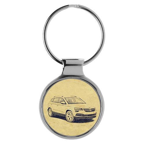 Für Skoda Kodiaq Fan Schlüsselanhänger A-4514