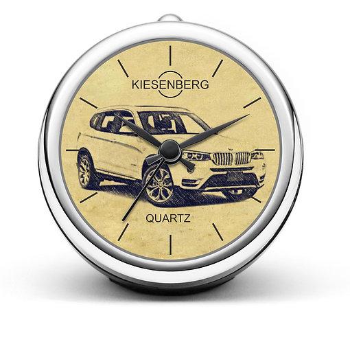Für BMW X3 F25 Modellpflege Fan Tischuhr T-4627