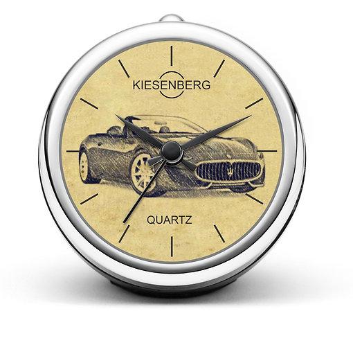 Für Maserati Fan Tischuhr T-4596