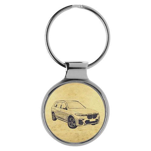 Für BMW X7 Fan Schlüsselanhänger A-5623
