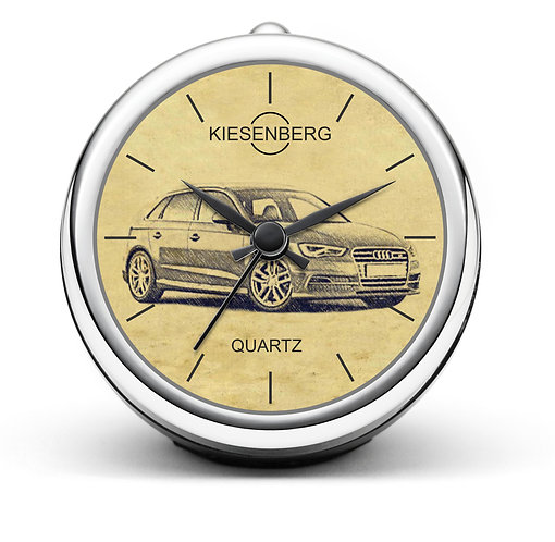Für Audi S3 8V Sportback Fan Tischuhr T-5086