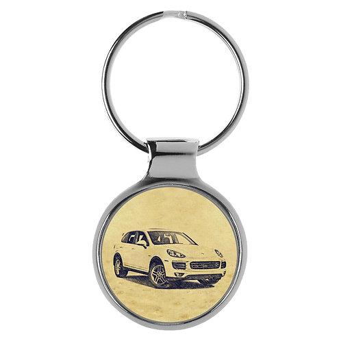 Für Porsche Cayenne Typ 92A Modellpflege Fan Schlüsselanhänger A-5369