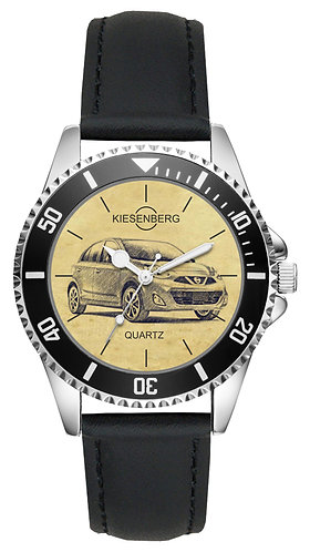 Für Nissan Micra K13 Modellpflege Fan Armbanduhr L-4805