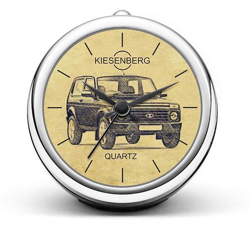Für Lada Niva 4x4 WAS-21214 Fan Tischuhr T-4709